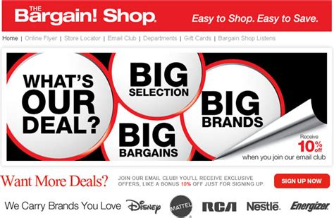 the bargain shop weekly flyer flyers