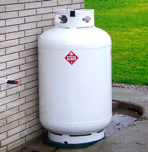 100 gallon propane tank or 420 lb tank 500 gallon propane tank