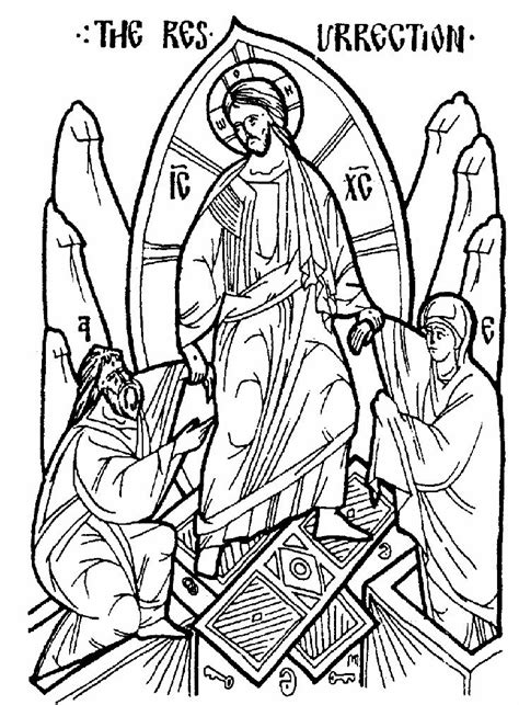 orthodox christian coloring pages orthodox icon coloring pages orthodoxy pinterest