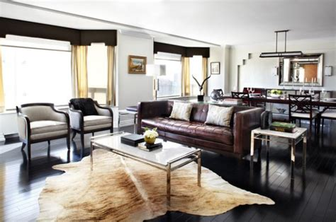 modern living room ideas with brown leather sofa give your living room an look with a brown leather sofa