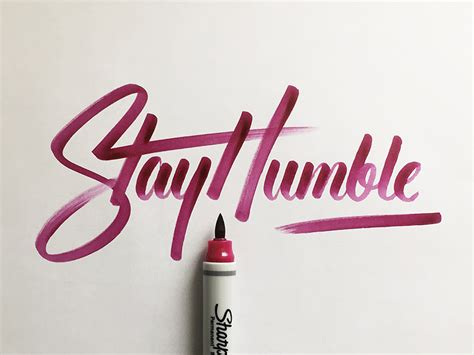 stay humble by colin tierney dribbble