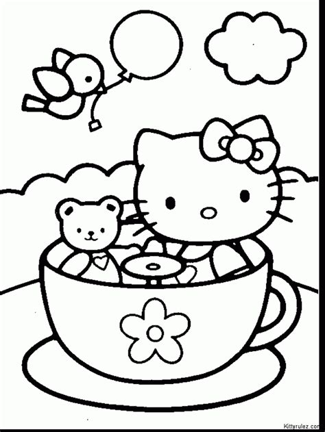 hello kitty coloring pages pdf hello kitty easter coloring coloring kids free printable