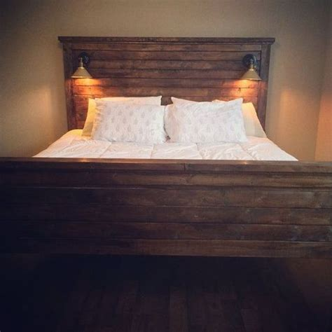 Photos Diy Headboards And Lights On