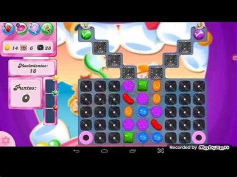 candy crush saga nivel 2270 / sin boosters youtube