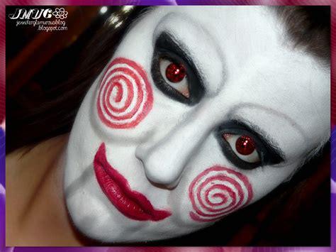 imagenes halloween hombres maquillaje saw para hombre