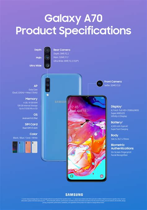 Samsung Galaxy A80 Order by Infographic Galaxy A80 And Galaxy A70 Specs At A Glance Samsung Global Newsroom