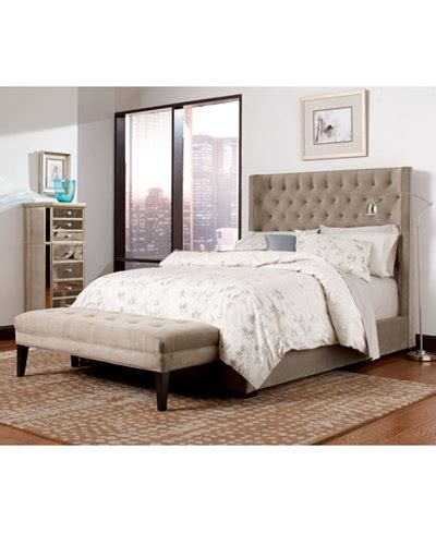 morena bedroom furniture collection created for macy s wysteria upholstered bedroom furniture collection created