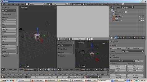 Blender 7 In 1 Takeshi Ira Krakow S Blender 2 5 Splitting Joining Windows Tutorial