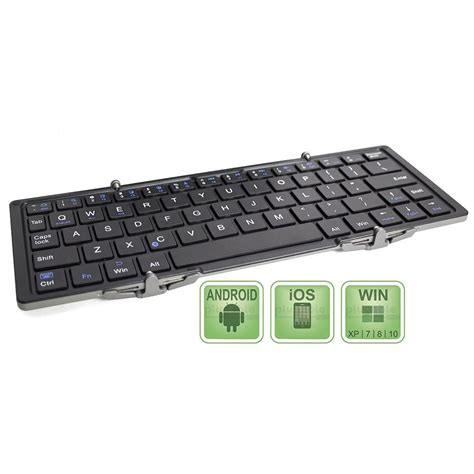 Keyboard Komputer Lipat Jual Keyboard Wireless Lipat Three Folding Magnetic