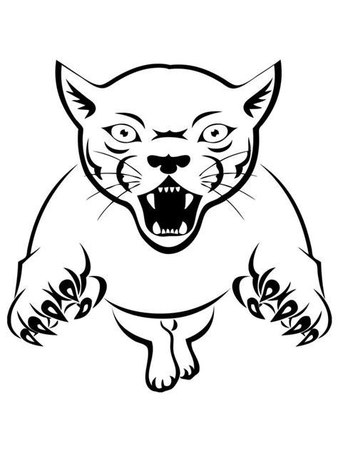 Dibujos para colorear: Puma imprimible, gratis, para los