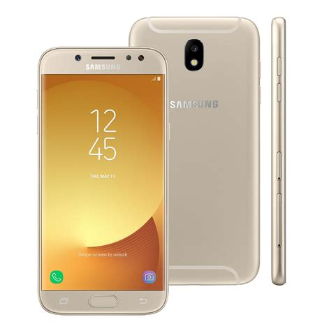 erafone samsung j7 pro smartphone samsung galaxy j7 pro dourado com 64gb tela 5