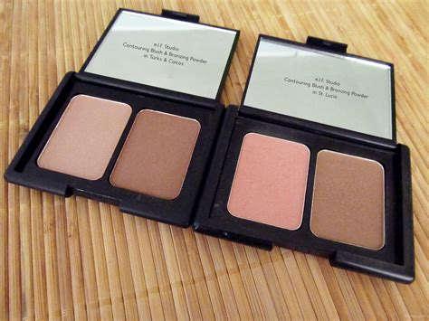 Studio Contouring Blush And Bronzing Powder St Lucia e l f studio contouring blush and bronzing powder in turks caicos and st lucia