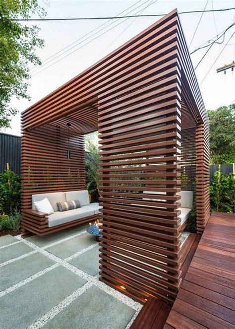 Fotos Holz Decks by Dise 241 O De Una Moderna Terraza De Madera De Una Casa En La