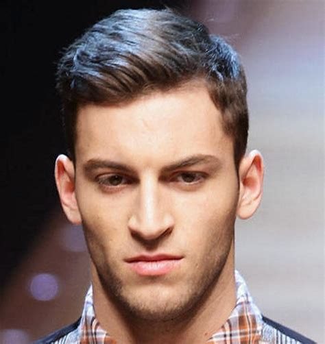 lovehart shaped hairstyles for men with big ears and gray hsir fashionable hairstyles for men