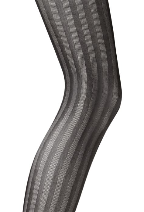 black and brown patterned tights forever 21 vertical striped tights in black lyst