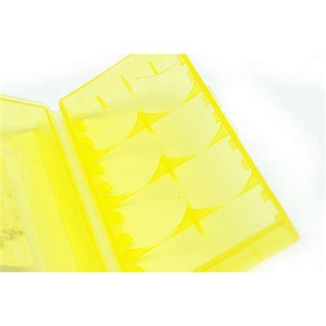 Nitecore Transparent Battery For 2x18650 nitecore transparent battery for 2x18650 yellow
