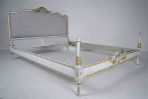 antique queen bed antique louis xvi style queen size bed frame at 1stdibs
