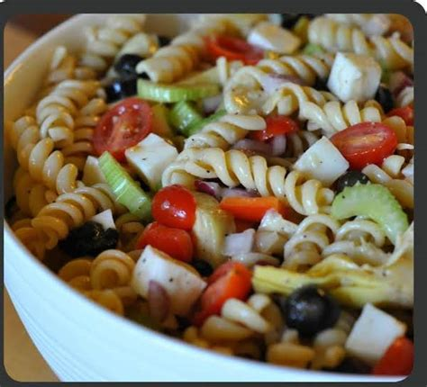 pasta salad recipes with italian dressing pasta salad blue cheese w italian dressing recipe just a