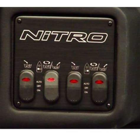nitro boat switch panel tracker nitro 901 911 929 boat gauge and switch dash