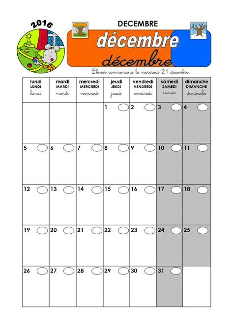 en classe avec ludo calendrier 2016 2017