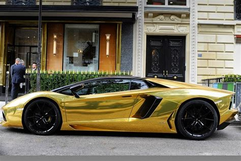 Gold Lamborghini For Sale Cigars And Cars 24k Lamborghini Seen