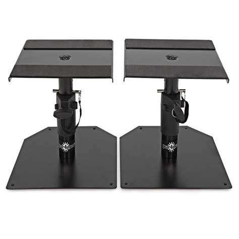 desk speaker stand adam a3x active studio monitors includes desktop monitor