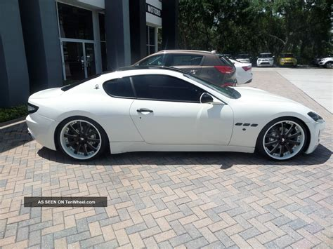 custom maserati sedan 2008 maserati gran tourismo custom wheels looking car