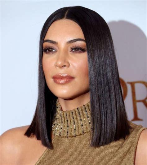 kim kardashian long bob hair 25 best ideas about kim kardashian haircut on pinterest