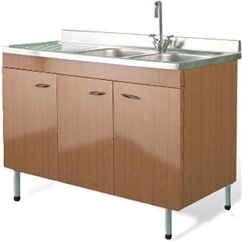 lavelli cucina con mobile mobile sottolavello teak 120x50 lavello inox 2 vasca con