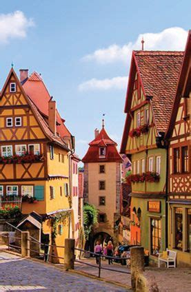 quaint german town places i d like to see pinterest the charming streets of rothenburg ob der tauber germany