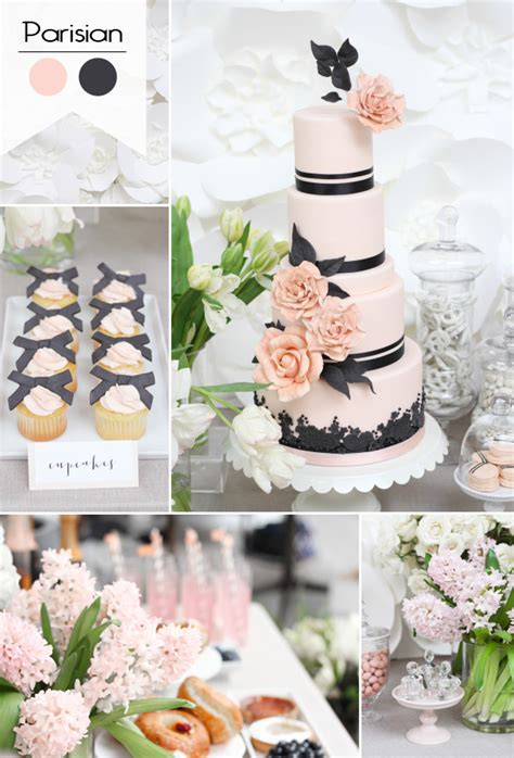 pink and black bridal shower decorations great 8 bridal shower theme ideas you will for 2016