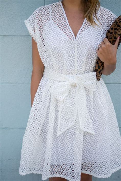 Trends For Summer Eyelet Accents When You Just Cant Commit Second Cty Style Fashion Second City Style 3 by White Eyelet Dress Eyelet Dress And Dresses On