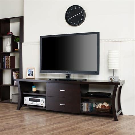 modern tv entertainment furniture furniture of america danbury modern 2 drawer tv console