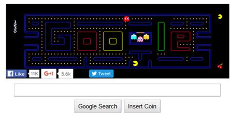 doodle pacman play pacman related keywords suggestions play