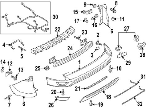 ford escape parts diagram parts 174 ford support bracket back partnumber