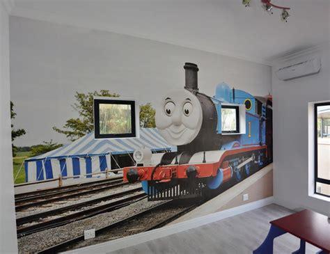 Thomas The Train Wall Mural wallpaper