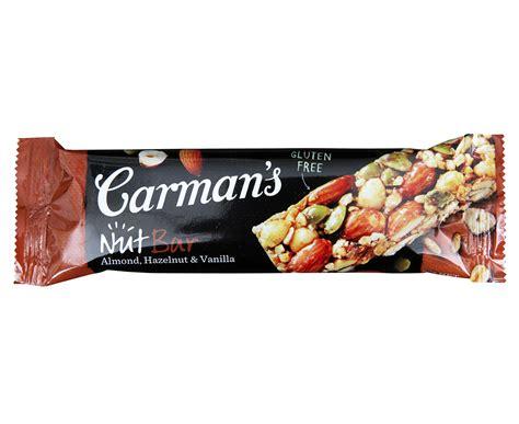 Branded Kaos When I Was Hungry B 1804 10 3 x carman s almond hazelnut vanilla nut bars 175g 5pk great daily deals at australia s