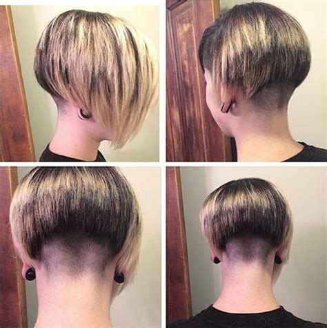 short stacked bob haircut shaved 15 shaved bob hairstyles ideas bob hairstyles 2017
