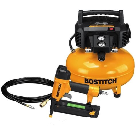 bostitch pancake air btfp1kit compressor combo kit replaces cpack1850 w wrnty ebay
