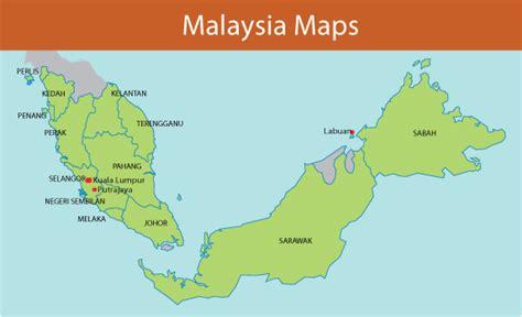 vector malaysia map malaysia map vector