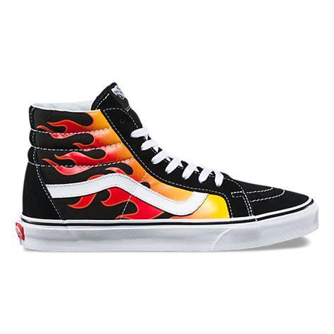 Thrasher X Vans Skool Reissue sk8 hi reissue shop shoes at vans