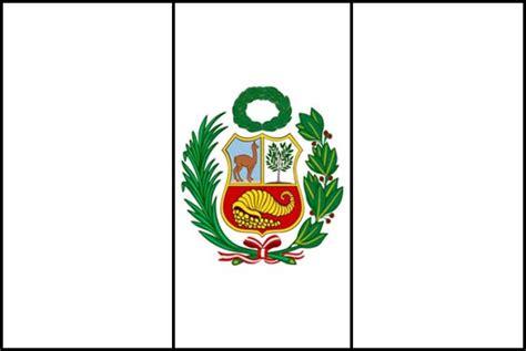 la bandera de peru para colorear bandera de peru actual para colorear colorear bandera de