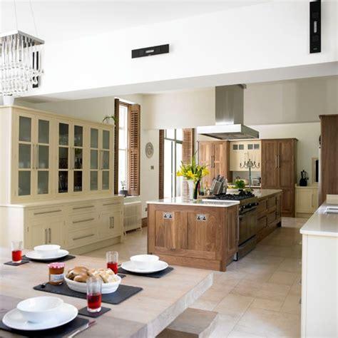 walnut kitchen take a tour of this glamorous walnut kitchen housetohome