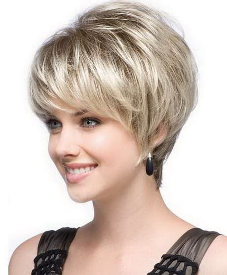 short haircuts for round face thin hair ideas for 2018 short hairstyles for thin hair and round face