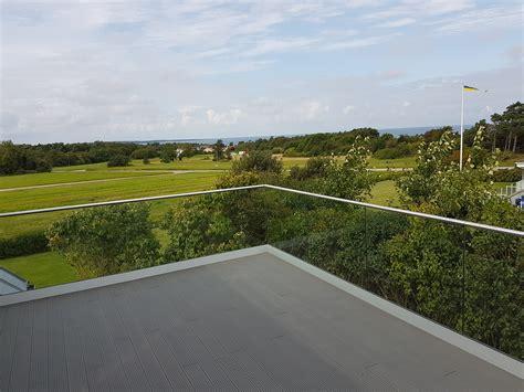 handlauf terrasse terrassengel 228 nder ma 223 gefertigte baus 228 tze mit glas