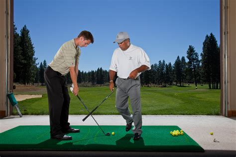 lost golf swing golf instruction and lessons at lost tracks golf course in