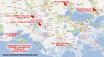 Louisiana Bayou Map by Gallery For Gt Louisiana Swamps Map