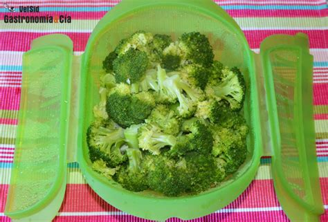 como cocinar brocoli en microondas c 243 mo hacer br 243 coli al vapor en el microondas gastronom 237 a