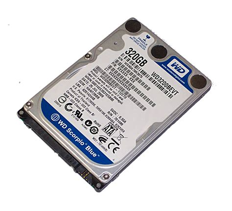 Hardisk Laptop 320gb Wd wd wd3200bevt 11zct0 320gb 2 5 5 4k 8mb sata 300 disk drive wd3200bevt ebay