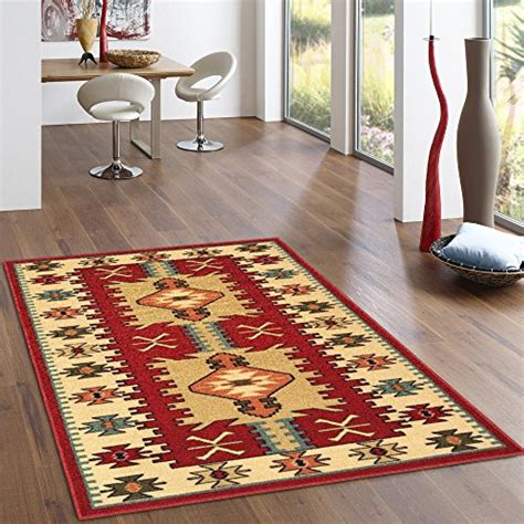 4 X 5 Kitchen Rug Kapaqua 2100 3x5 Rubber Backed 3 4 Quot X 5 Turkish Kilim Design Area Non Slip Rug Rana